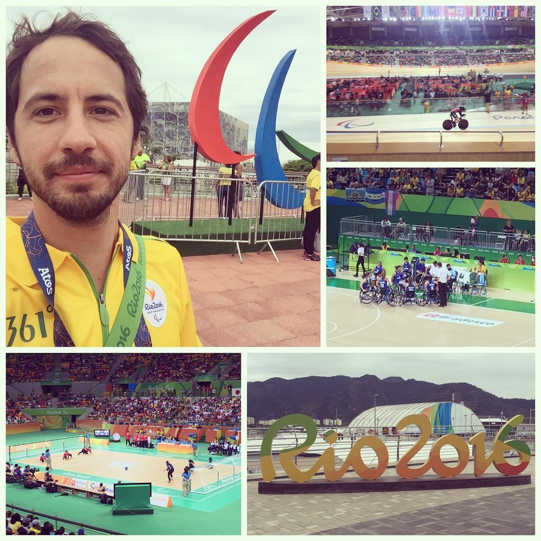 #Paralympics Day 01 #Work #Rio2016