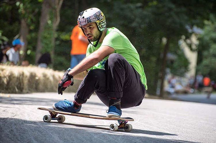 Throwin' it back to the @centralmassskatefestival. Flow team rider @pangullvine_96 keeps his focus while riding low.