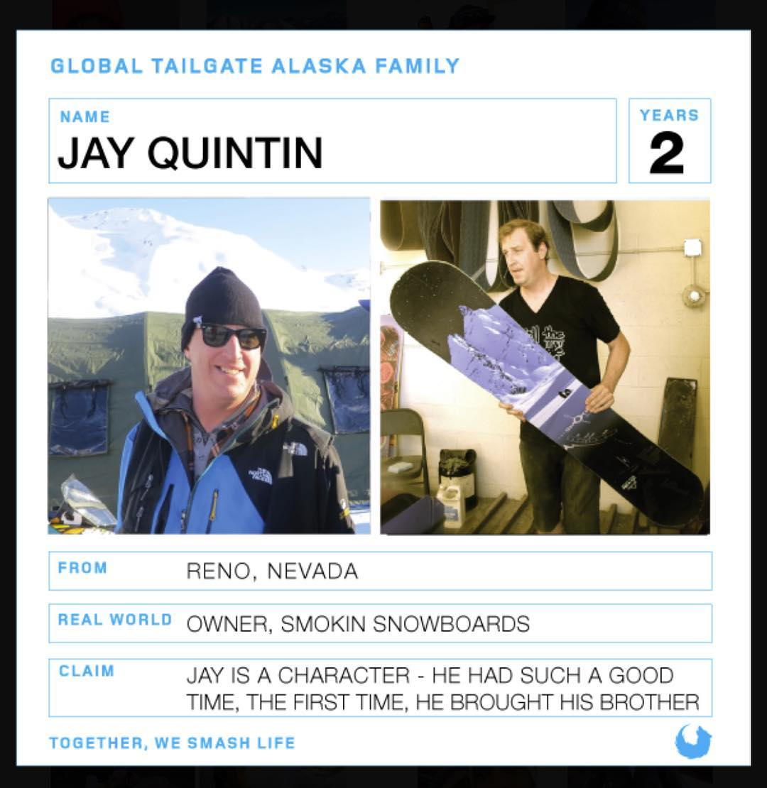Big thanks to @tailgatealaska for giving us #accesstothegoods , super stoked they put me up on their new website as #family #keepersofthereal , check it out and go if you can.  #life changer | #weareok | #forridersbyriders | #smominsnowboards - I...