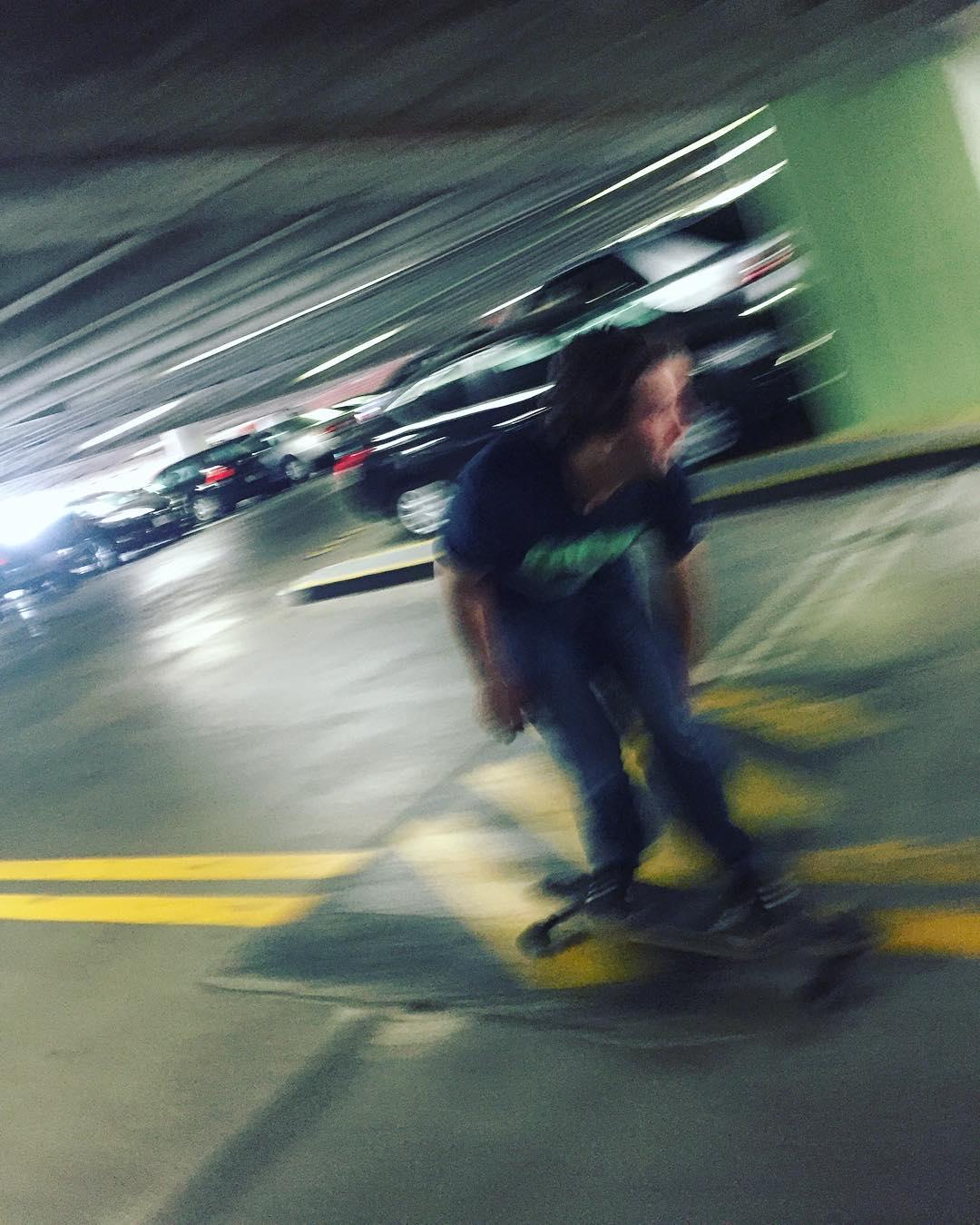 @jameskelly_shm speeding through space and time for @prismskateco