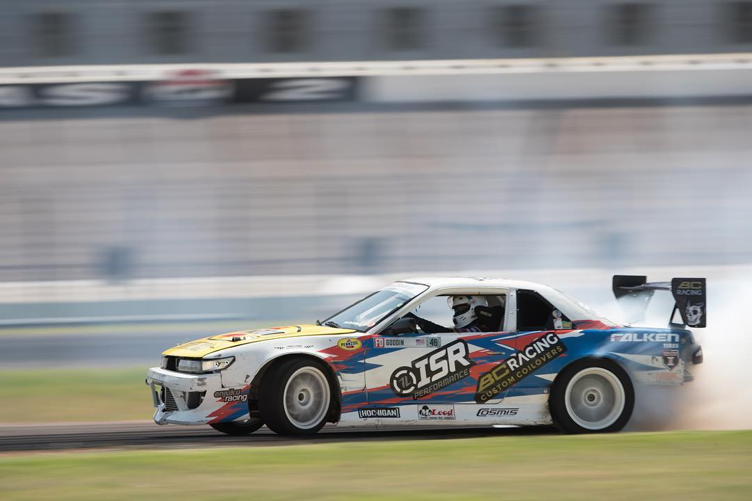 Dirt droppin with @patgoodin! #fdtx #formulad #240sx