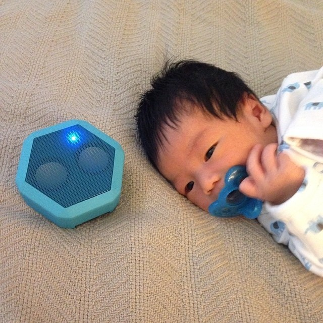 Mom's...take some down time today and use your #boombotix #speaker as a baby monitor! Photo provided by @friscoboy98 #swagphotooftheday #happymothersday #evolution