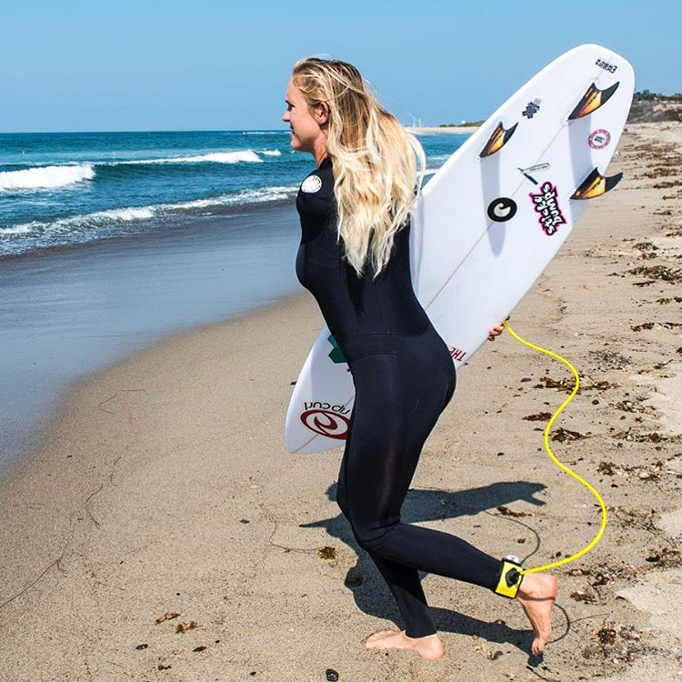 Noticing lots of @WSL pros with #ECOBOARDS in their contest #quiver... but seeing #wildcard @bethanyhamilton get wild at #Trestles on her new  #cifredstubble by @cisurfboards was a whole #nother level of stoke for us.