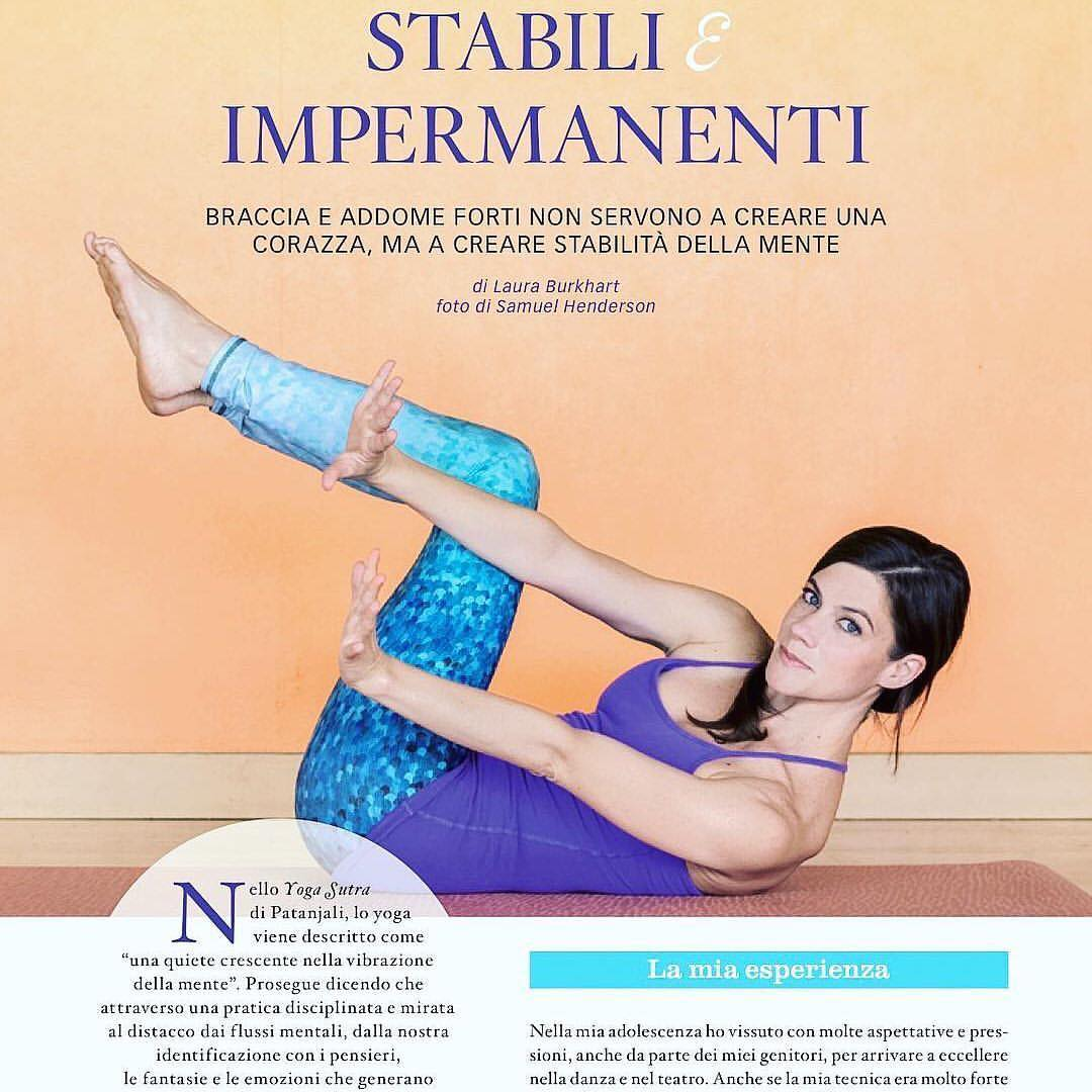 YOGA EVERYWHERE  Join OKIINO Ambassador Laura Burkhart in Italy & Greece this summer  #Repost @lauraburkhartyoga- I am super honored to have written the feature article for @yogajournalitalia September Issue! You can view the full article by clicking...