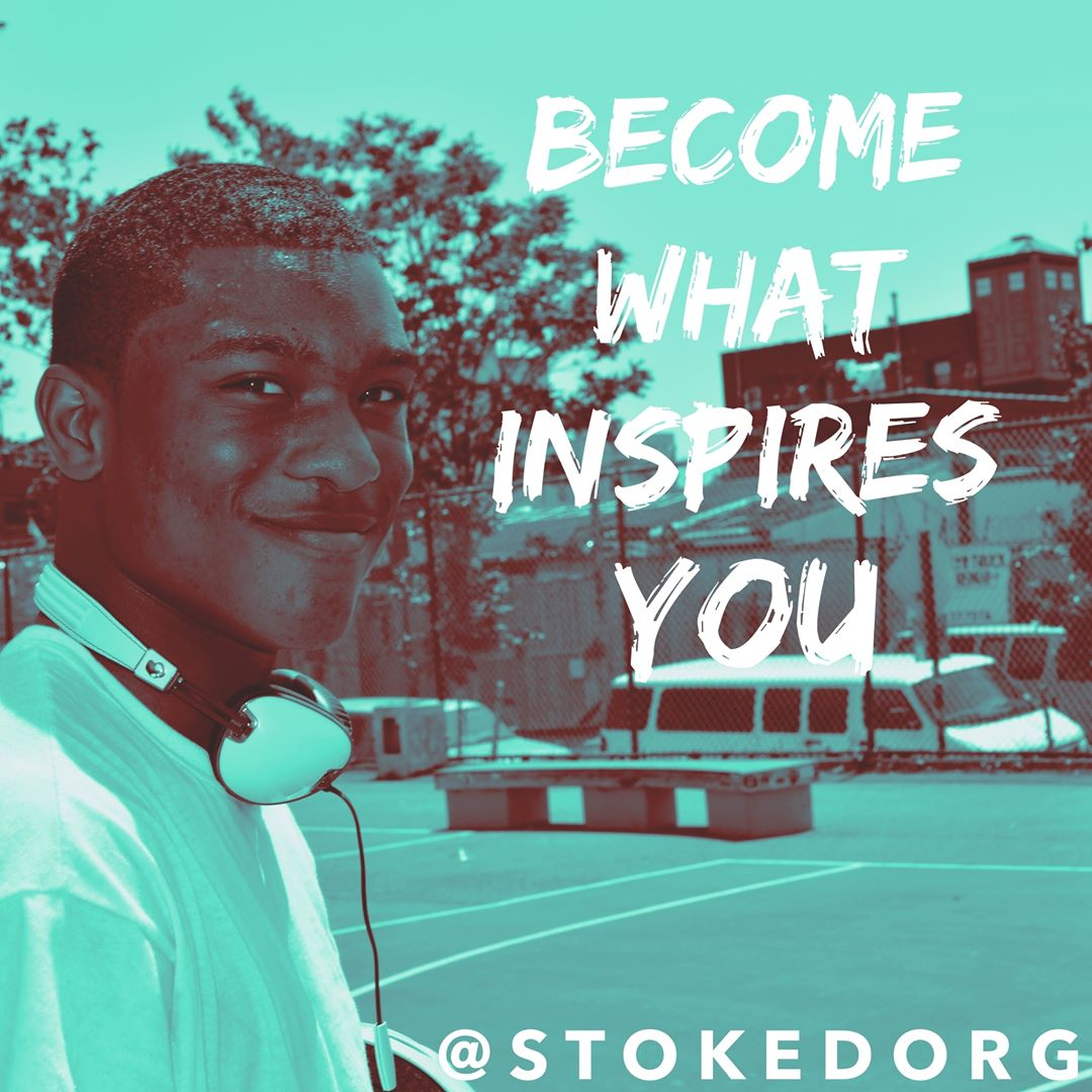 Become what inspires you.