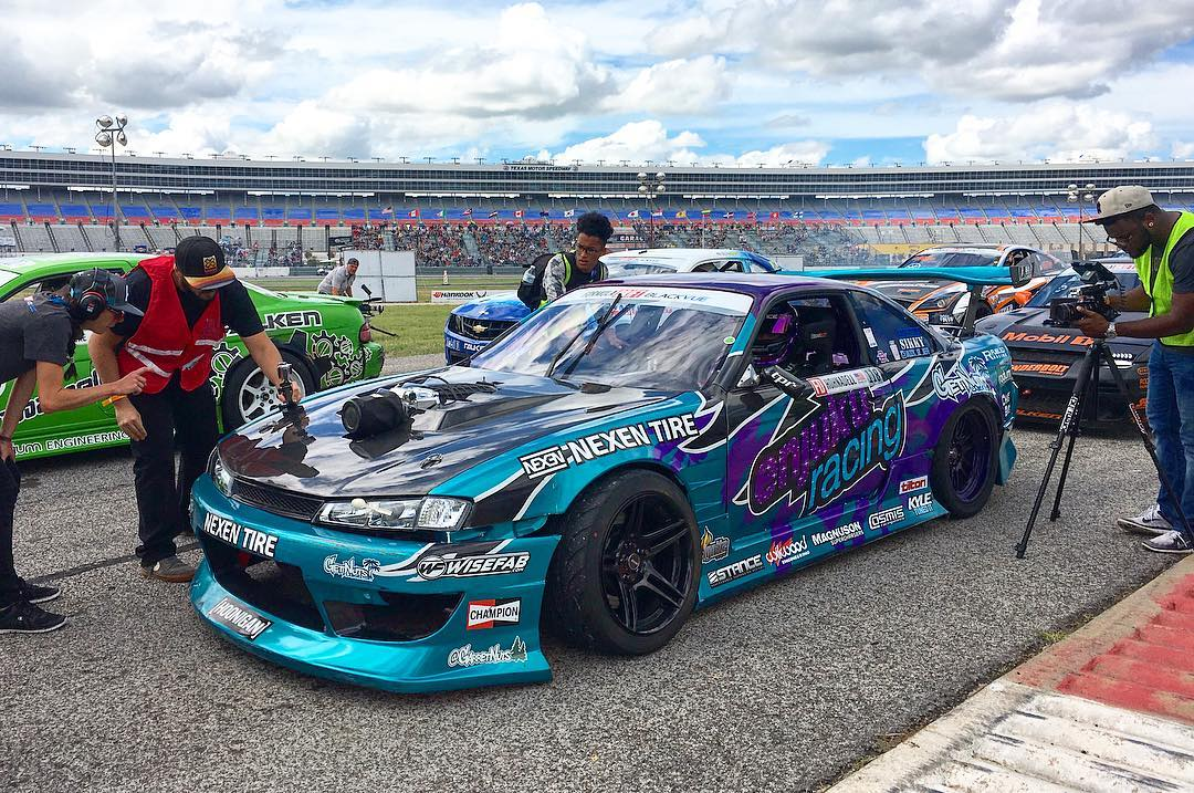 On the grid @formulad #fdtx with our man @alechohnadell