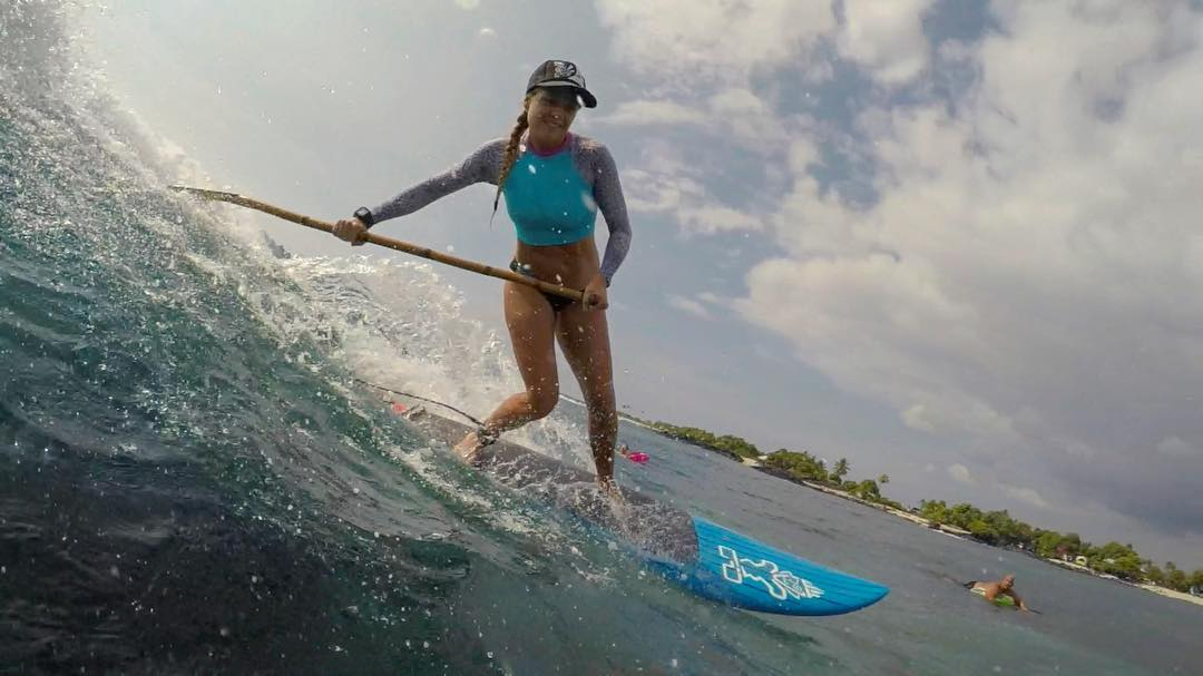 I'm having the time of my life with this rad shredder! @swellliving in @odinasurf on @starboardsup get it @konaboys #bamboopaddle #kaenon #teambioastin #gopro #odinasurf #sustainablesurf #standupjournal #supconnect #livethetikilife #navitasnaturals...