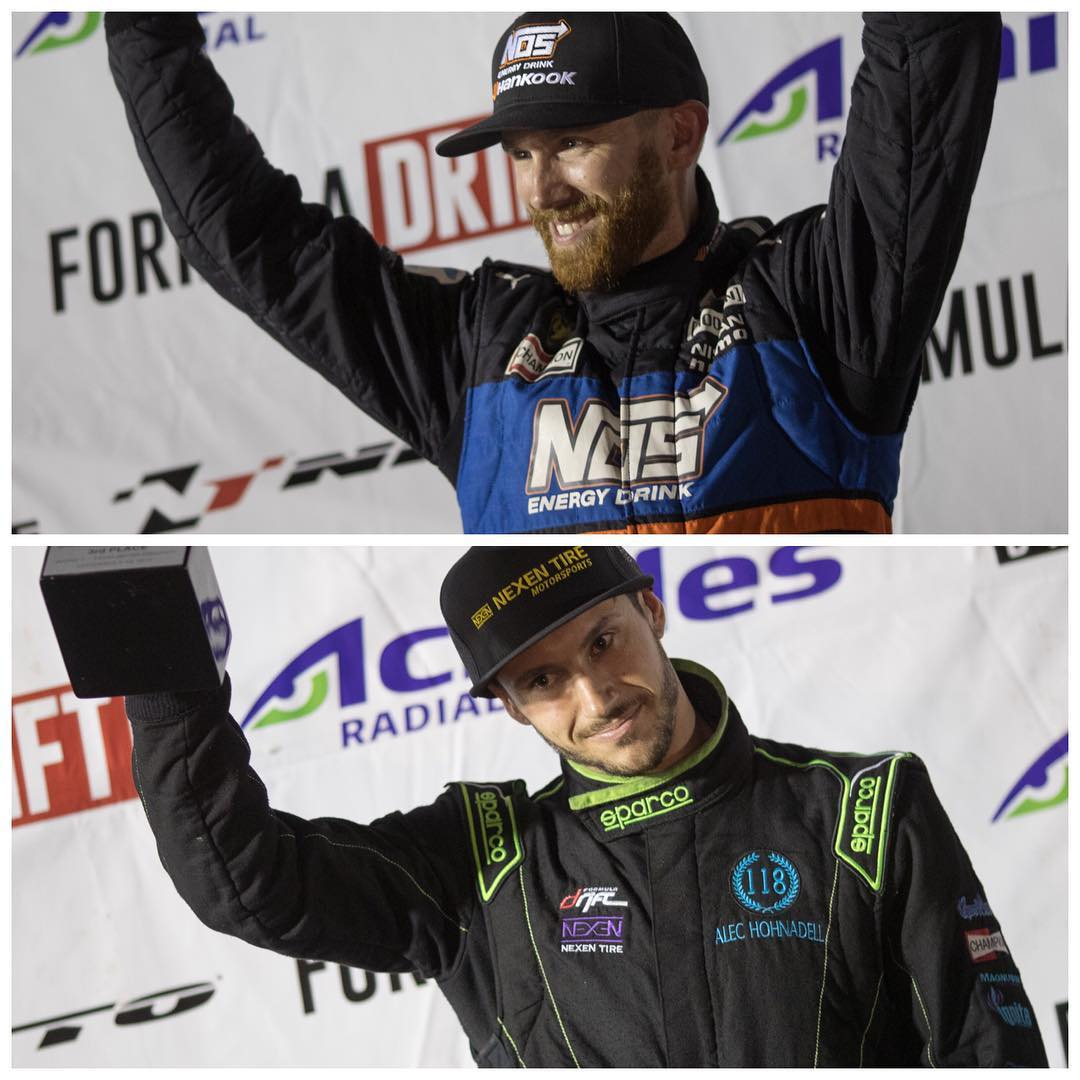 Congratulations to our homies @chrisforsberg64 (for his record 6th straight podiums with the P2 finish and extending the points lead in the 2016 Championship) +  @alechohnadell (epic battles all night long and the P3 podium finish) @formulad #fdtx...