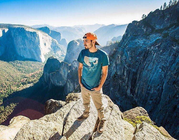 @joseromero93 striking the Yosemite weekend pose