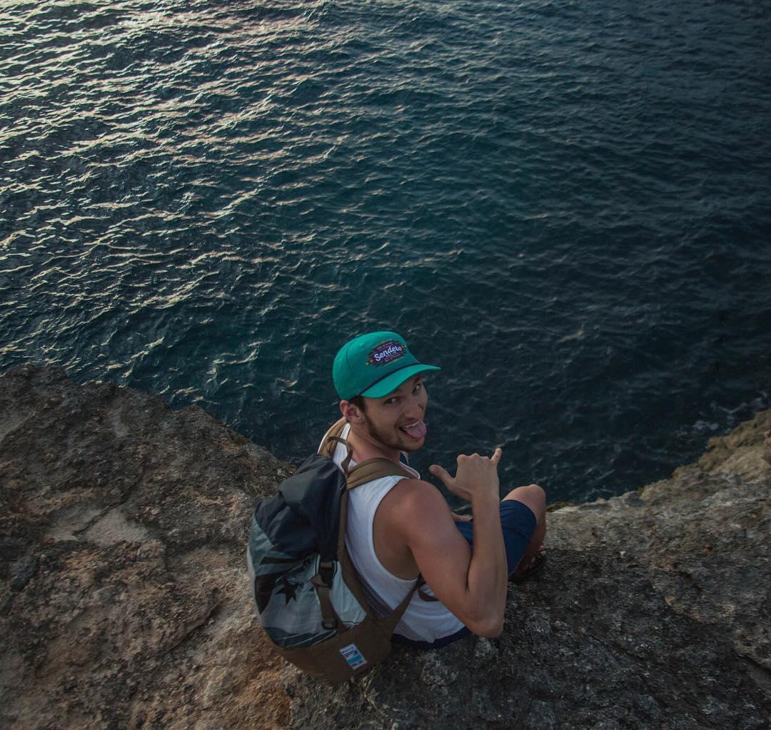Always ready to jump in // New adventure Nusa Lembogan, Indonesia