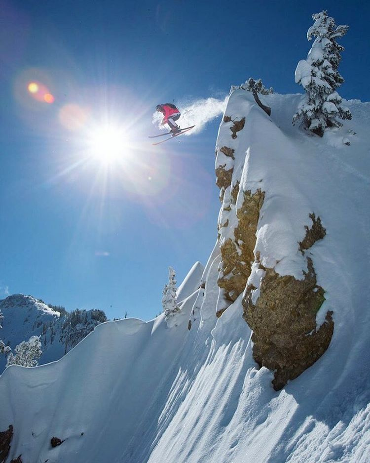 Who's craving some #powder?! Here's @sierra sending it! #almostskiseason #lifesoundsgood