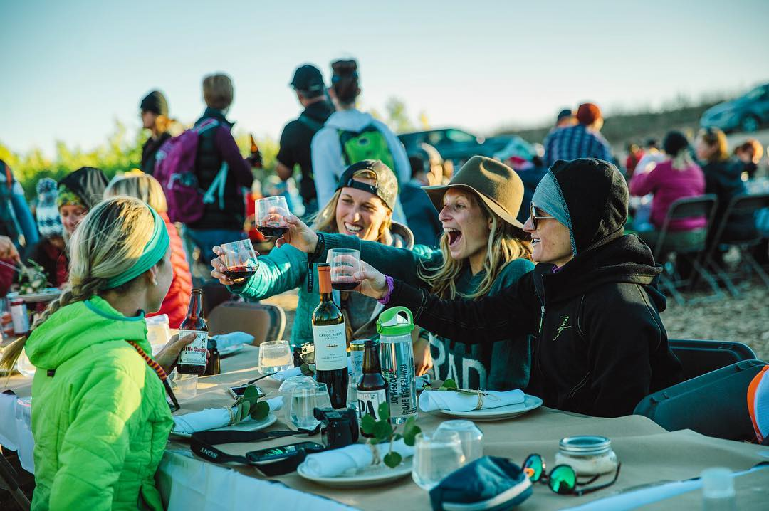 Cheers to another epic weekend in the outdoors. It has been an inspirational experience for me getting to know these women who have come from near and far to get #sweatydirtyhappy. From mother/daughter outings to solo adventurers, the strong Outessa...