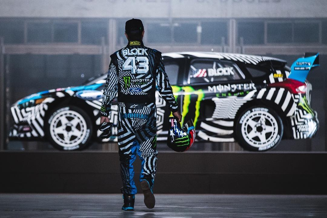 When you see @fifteen52 wheels mounted on @kblock43's race car, you know what's next.... #GymkhanaNINE launching on our YouTube page (TheHoonigans, duh) TOMORROW!