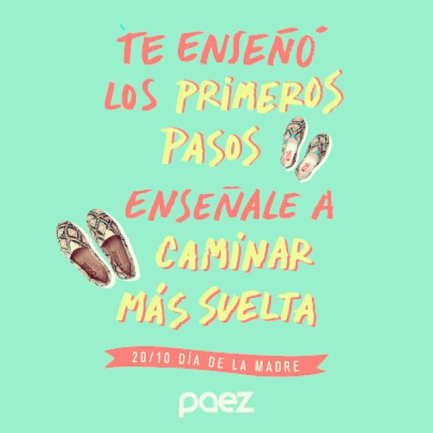 Se viene el dia de la madre Ya sabes que comprarle? #FelizDiaVieja  #madre #mama #felizdia #shoes #Paez #paezshoes www.laspaez.com.ar/productos
