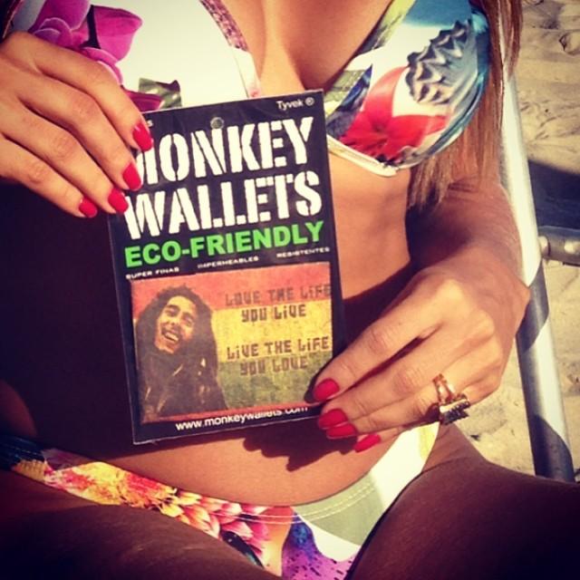 #monkeywallets #riodejaneiro #brasil2014 #ipanema #carteira #ecologica @monkeywallets