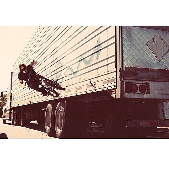 #repost A #BULThelmets photo shoot with @dakroche #semiwallride #bult #bmx