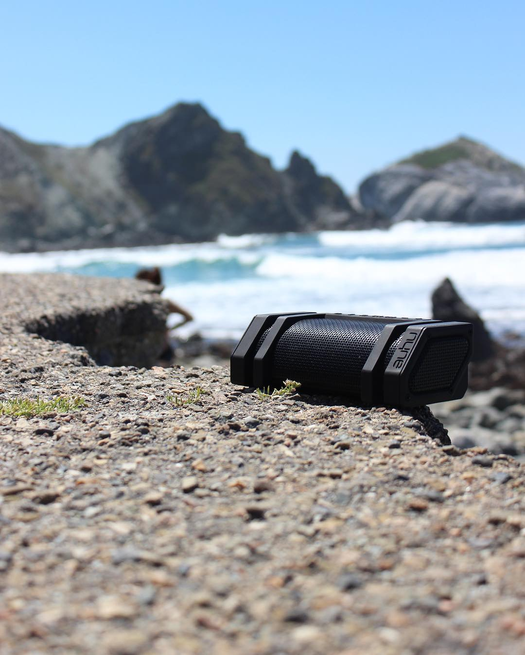 Life on the edge. #NYNEedge #rugged #bluetoothspeaker #lifesoundsgood #lifeontheedge