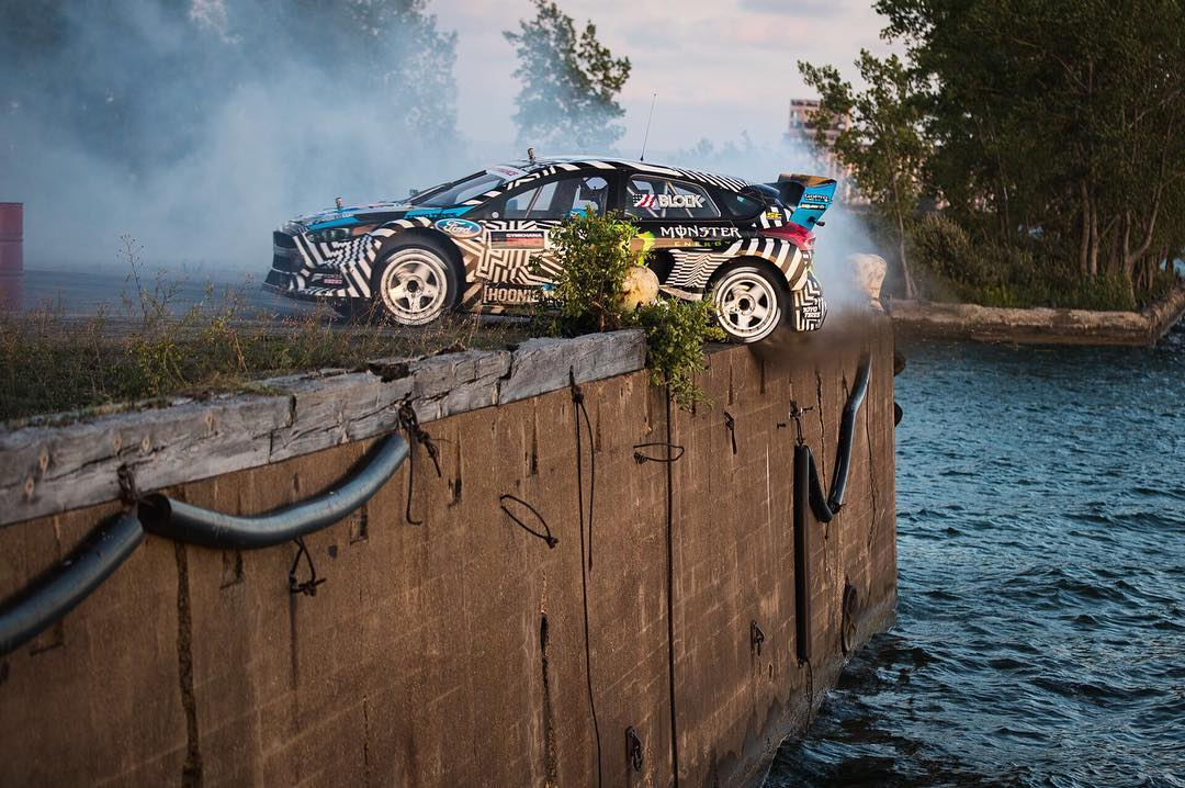 @kblock43's #gymkhananine is now live. Sit back and enjoy the ride at: hoonigan.com/Gymkhananine