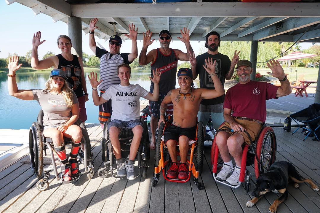 Shot 100% on @gopro!  FIVE adaptive athletes participated in the High Fives four-day adaptive water ski camp in Chico, CA. Watch their amazing strides in recovery, link in bio. Congratulations #HighFivesAthlete #gopro #billbowness #newhampshirenick