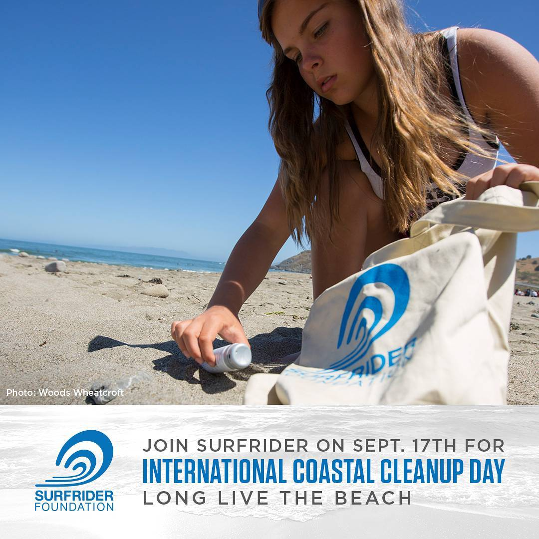 Join us this Saturday for #CoastalCleanupDay! We'll be cleaning OB @ #Noriega and #Sloat from 9-12 with the awesome ladies of #browngirlsurf! Please bring your own cleanup supplies if you have them! #protectandenjoy #surfriderfoundation #surfridersf...