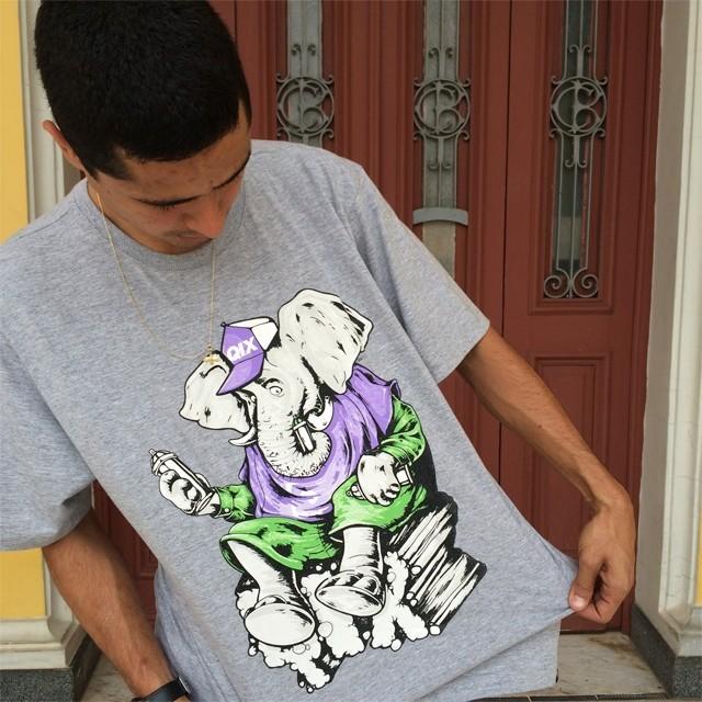 Qual a sua camiseta favorita da #qix? Camiseta Animal - LOJAQIX.COM.BR #qix #qixskate #skate #streetwear