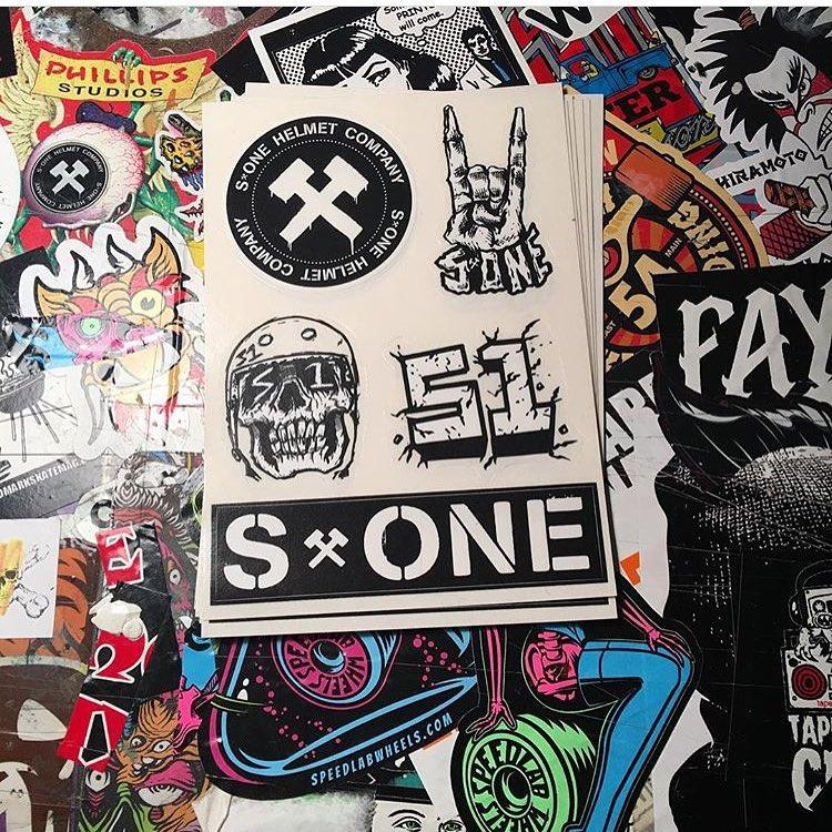 @bobbydrawsskullz x S1 sticker sheetfree with every S1 Lifer Helmet. #skatestickers #stickersheets #s1liferhelmet #s1helmets #bobbydrawsskullz Regram @bobbydrawsskullz / stickers are printed at @grayslide 's #inkgenda