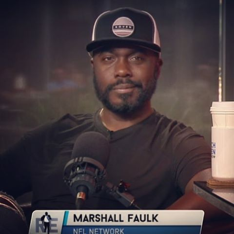 Our dude @marshallfaulkofficial was on the @richeisenshow earlier this week breaking down the match ups for week 1 of the NFL season and of course rocking our premium lunar SnapBack. Get yours now at hovenvision.com #whatsyourvision #hovenvision...