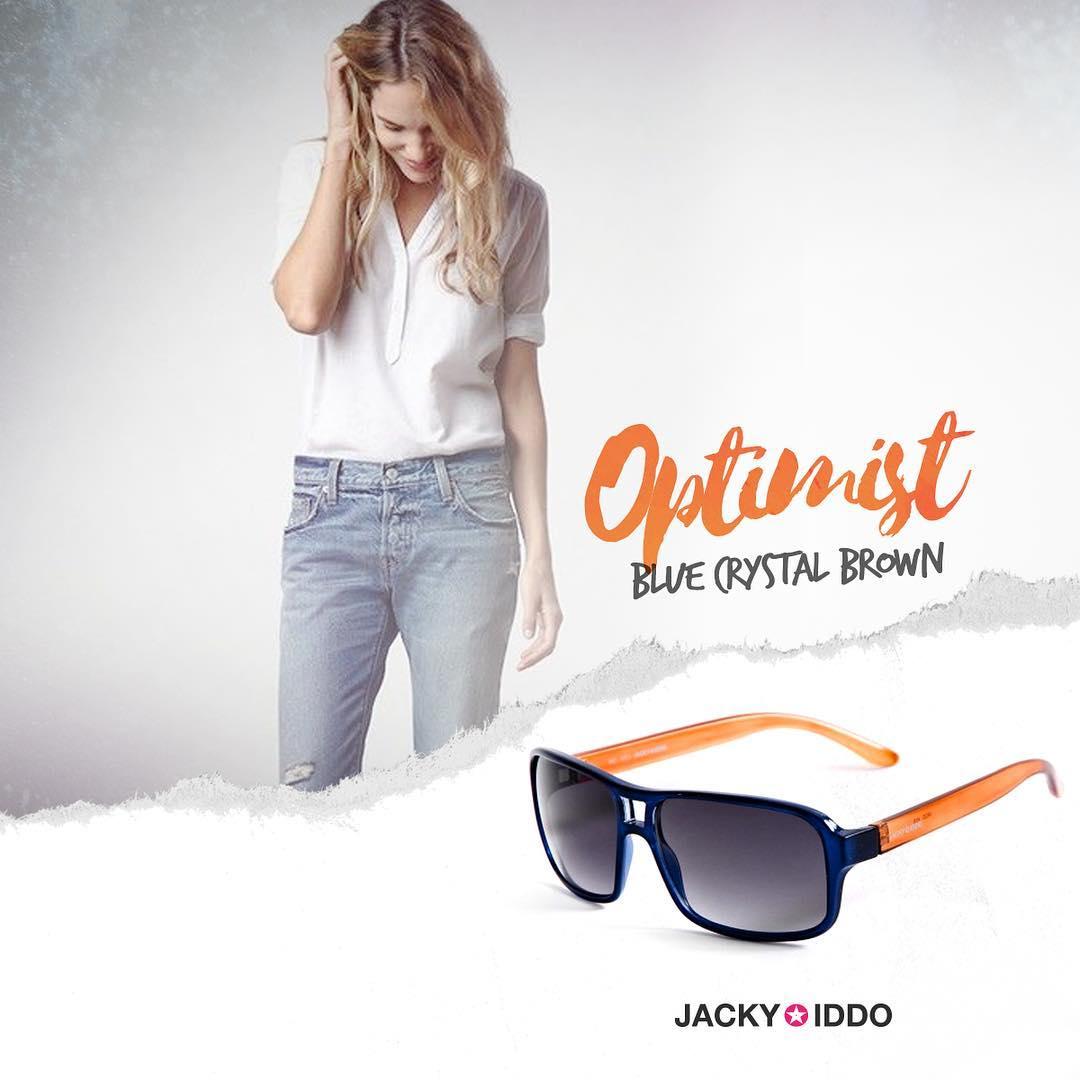 ✖︎ Optimist Blue Crystal Brown ✖︎ #urban #look #style #urbanstyle #lentes #anteojos #gafas #sunglasses #jackyiddo #actitudjacky