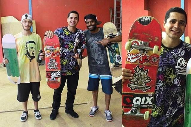 """Tiago """"Picomano"""" tem participado de vários eventos em Minas Gerais. Depois de Contagem, o amador seguiu para Belo Horizonte onde venceu mais um campeonato Best Trick. Confira. QIX.COM.BR #qix #qixskate #skateboardminhavida #skate"""