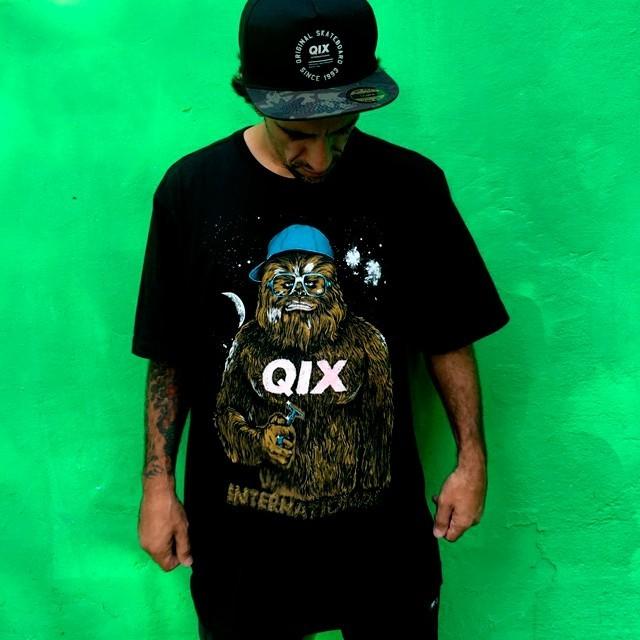 @rodrigoleal Maizena já escolheu a peita da sessão! Camiseta Cap - LOJAQIX.COM.BR #qix #qixskate #skate #streetwear