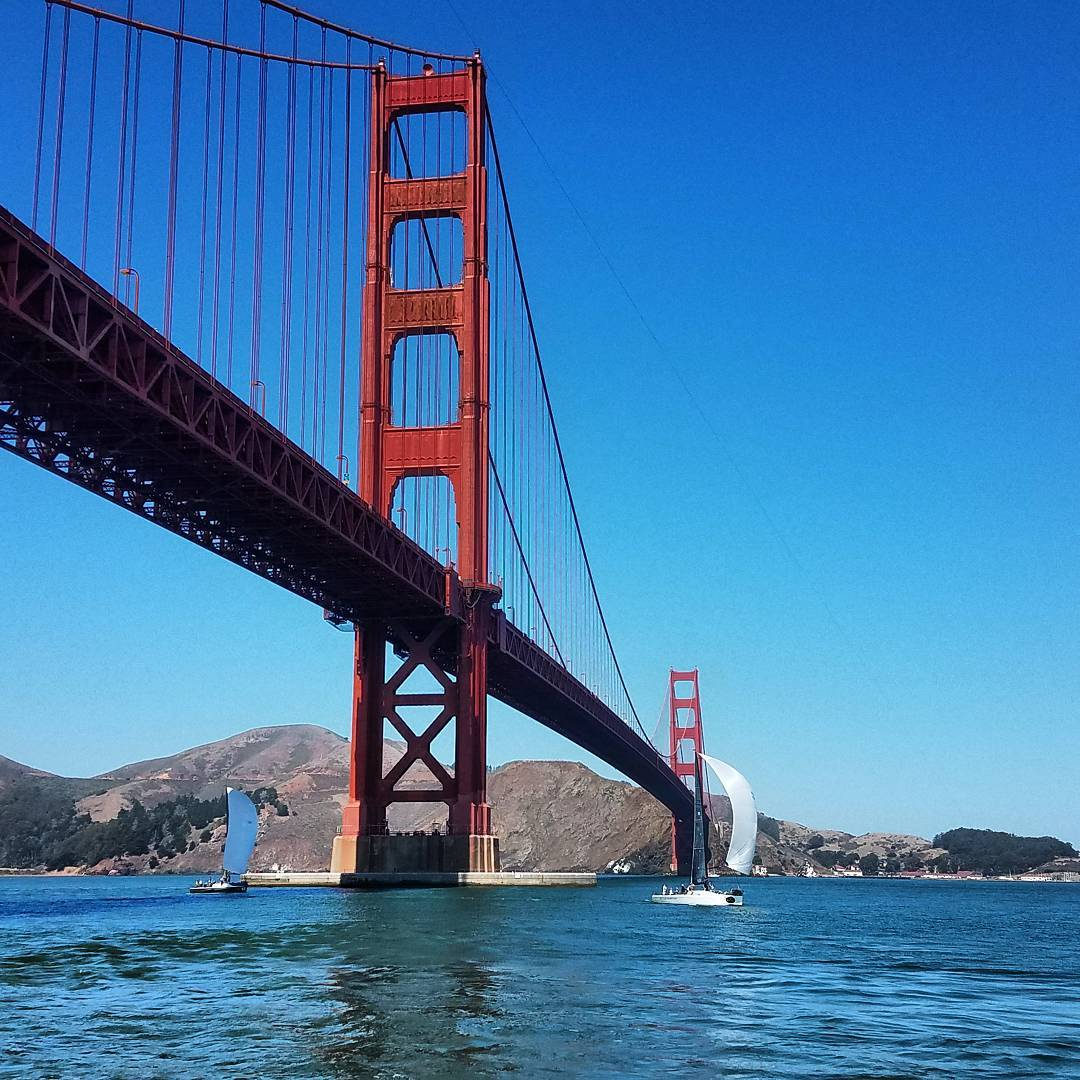 #farr40 under the #GoldenGate #SanFrancisco #California #USA