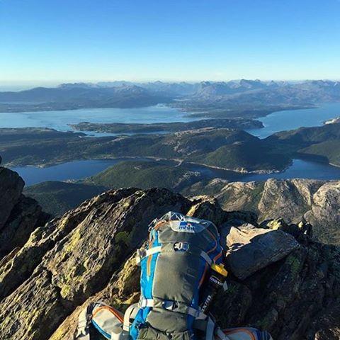 MHM overseeing Per Kalsa, Norway by @andreknut #MHMgear #PacksElevated #Norway #NorwayHike #ExploreNorway