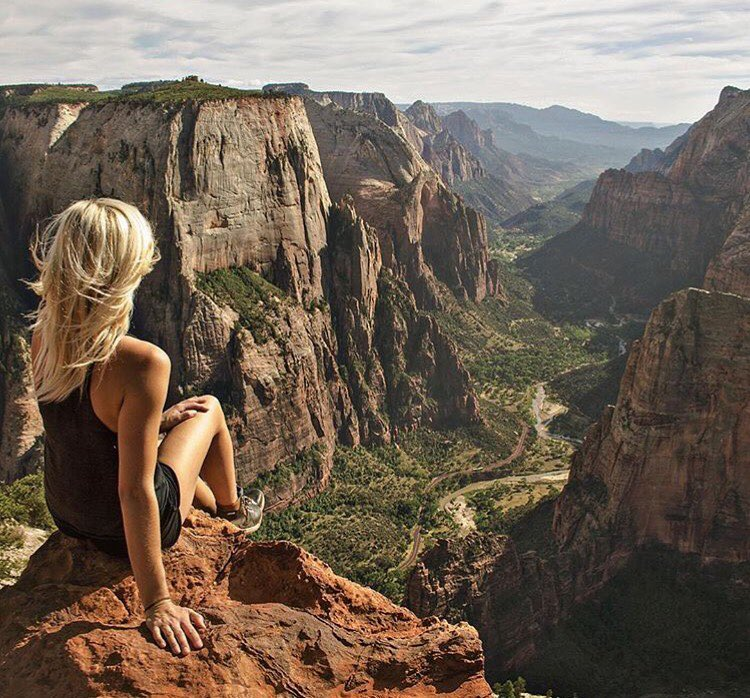 @jessgrambau is on top of the world @zionnps