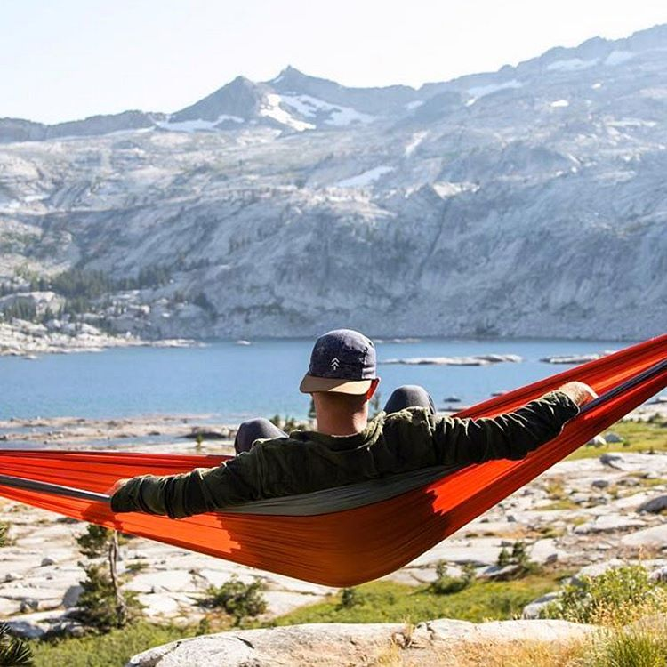 #HAMMOCKLIFE Rocking our Topo Hat in the hammock, looking sharp. Thanks for sharing @lochjessmonster #radparks #findyourpark #nps