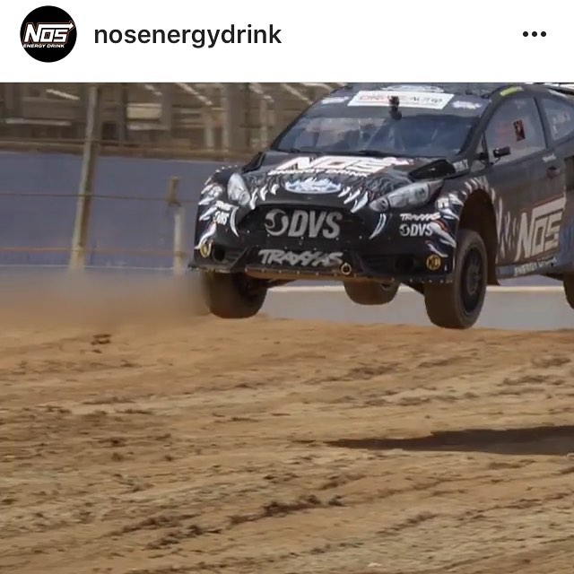 Head over to @nosenergydrink and click the link in their bio for an awesome video they did of me in my rally car