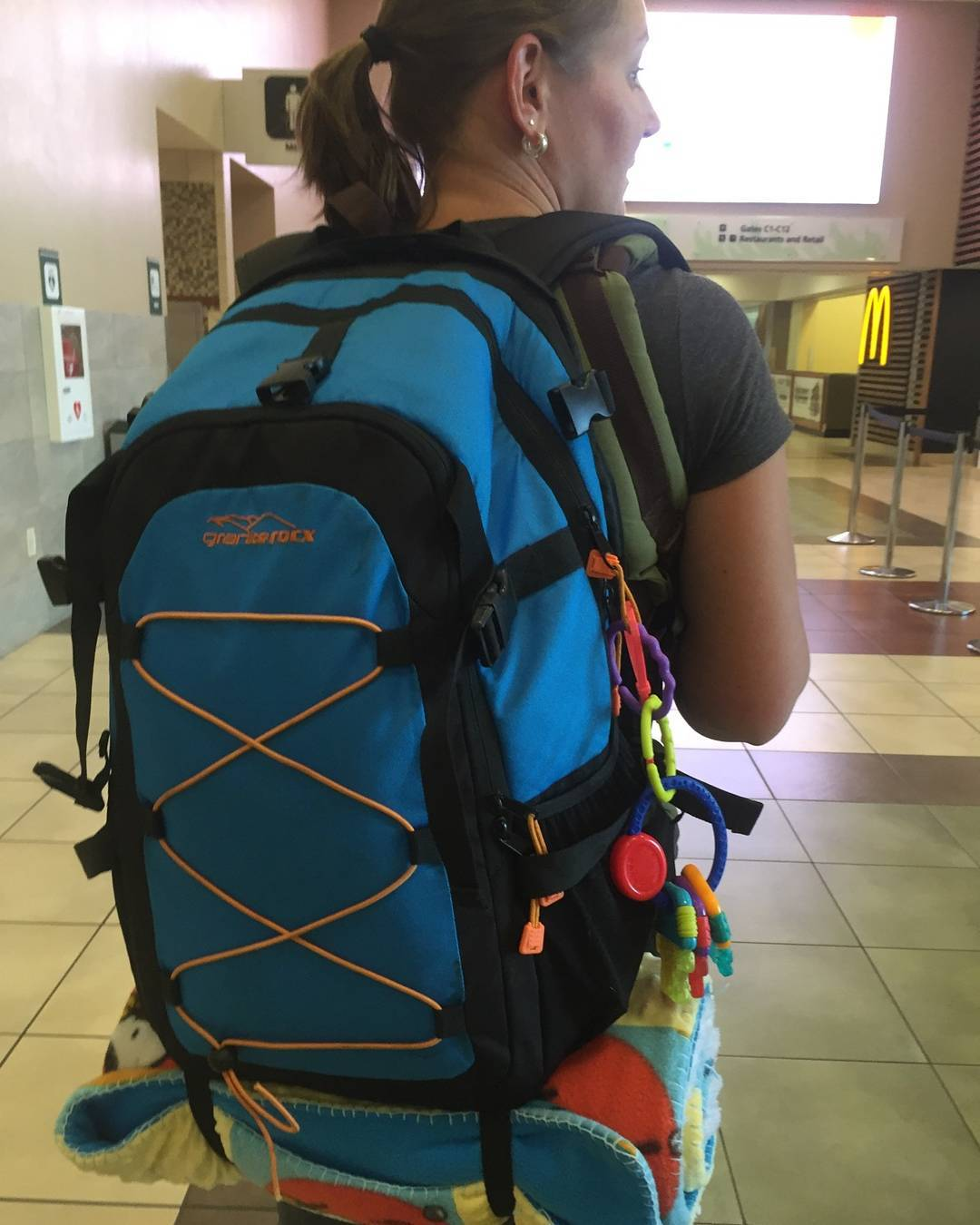 Travel with babies and children is made so much easier with the Cascade backpack & cooler! Thanks for the shot Patty! #travel #backpacks #coolers #adventure