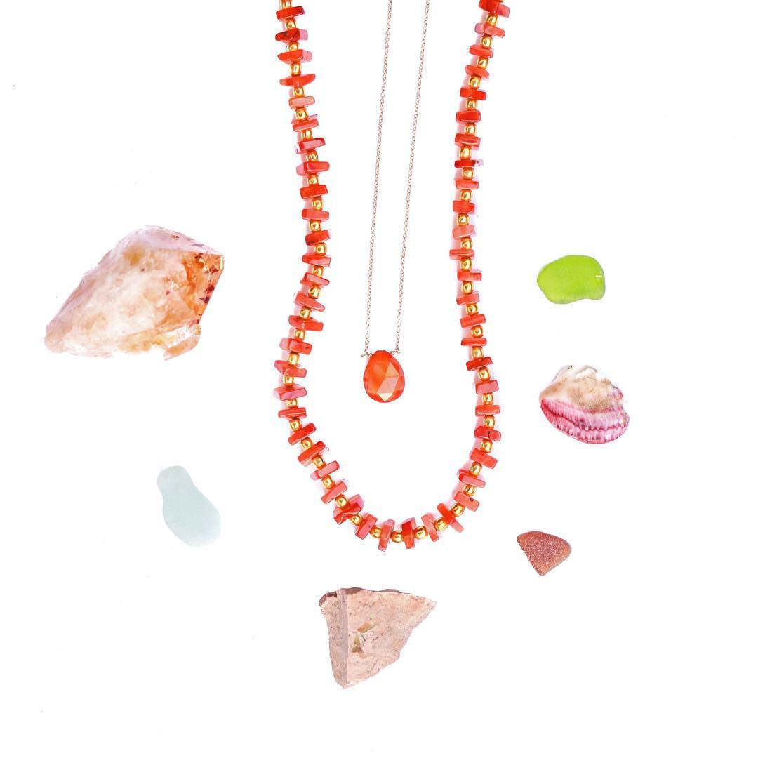 There's never been more Carnelian then right now. Carnelian is your heart stone, love stone and all around warm and present stone. Fall color tones are always inviting orange into the plaid color palates because it reflects security, comfort and well,...