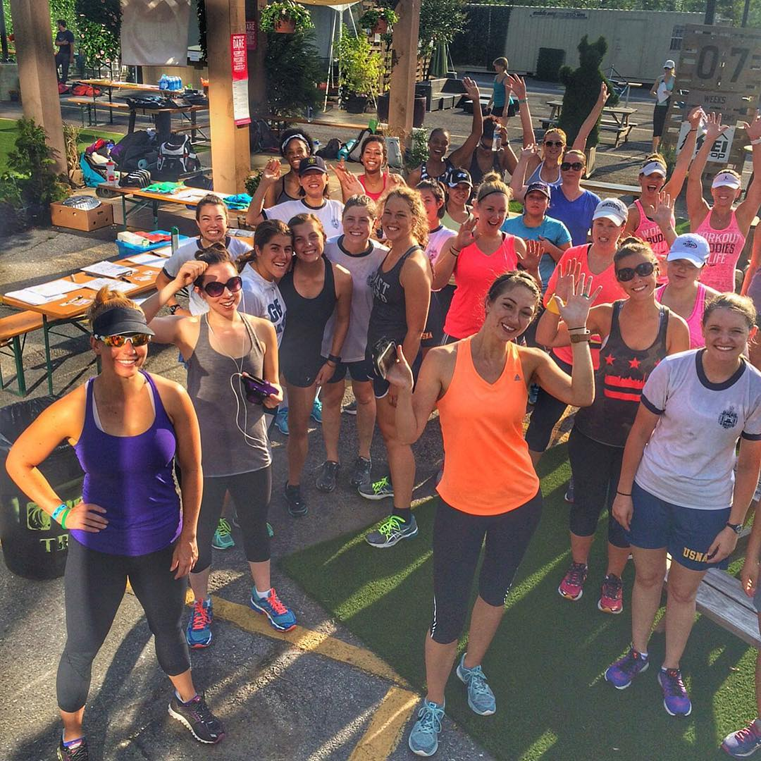 SHEJUMPS LAUNCHES IN D.C.!! Last Saturday, 36 women braved the heat and humidity in Washington DC to participate in SheJumps' launch event, The DC Urban Adventure Challenge! The ladies enjoyed a morning yoga session with ProYoga at the REI Community...