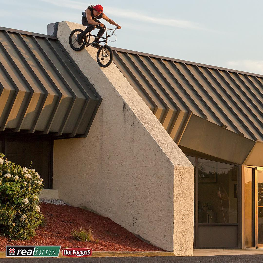 @ColtFake • 27 years old • Orlando, Fla. • Zero ❌ Games starts • BoneDeth Bikes  Click the link on our profile page to check out his #RealBMX edit! (