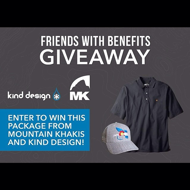 We are very excited to be working with one of our favorite brands, Mountain Khakis @mountainkhakis for this giveaway!  Click the link on our Facebook post and follow instructions to enter.  #kinddesign #mountainkhakis #liveyourdream