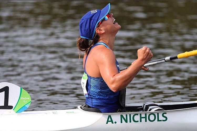 Congratulations to the U.S. Paralympic Paracanoe Team on their performance in Rio! For athlete @alanathejane it's all about giving back. Thank you Alana for your continued support in the High Fives Non-Profit Foundation and HIGH FIVE on 7th place!...