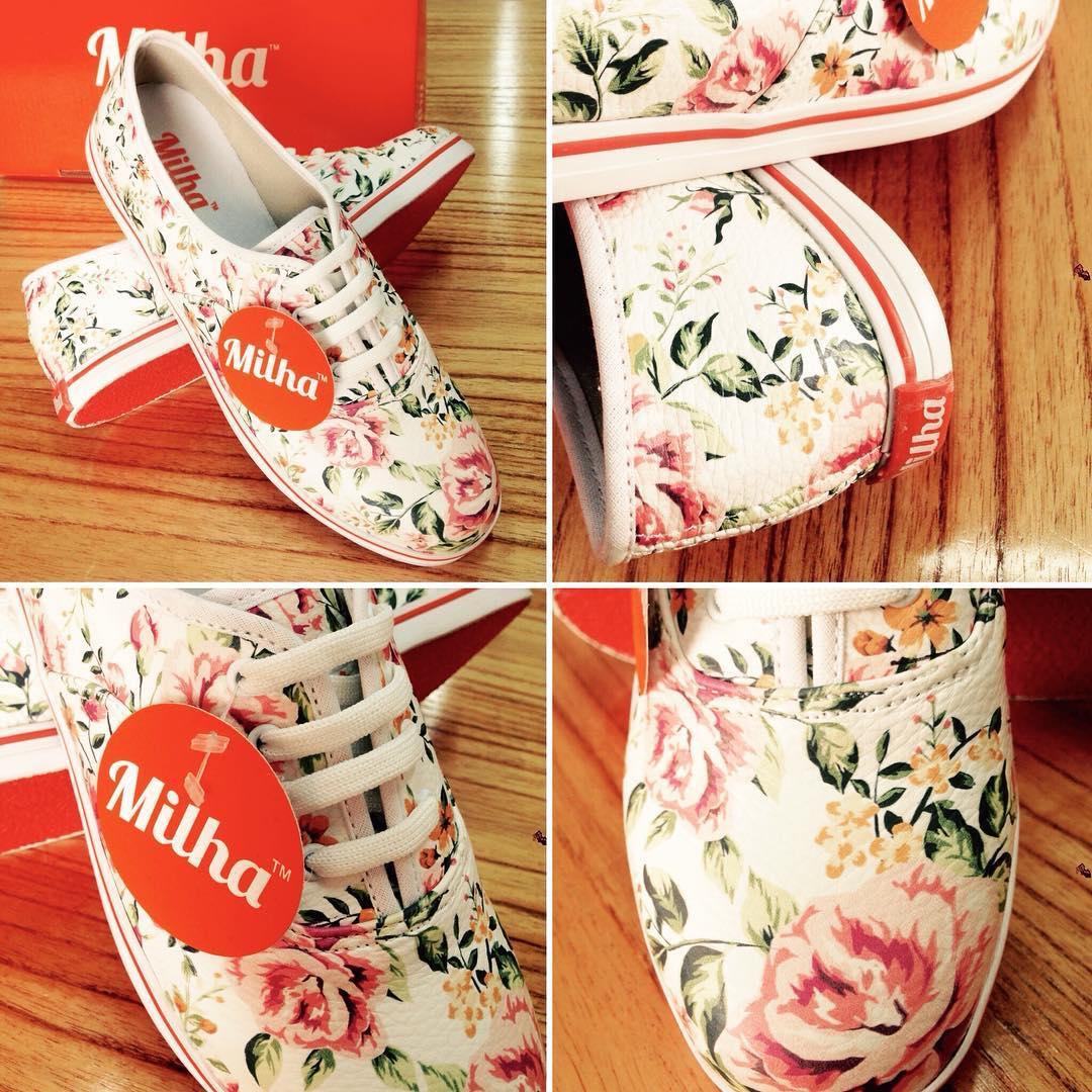 Estas participando? El domingo termina el sorteo de Facebook/milha.oficial por unas zapatillas Flowers! #milha #flowers #milhasoho