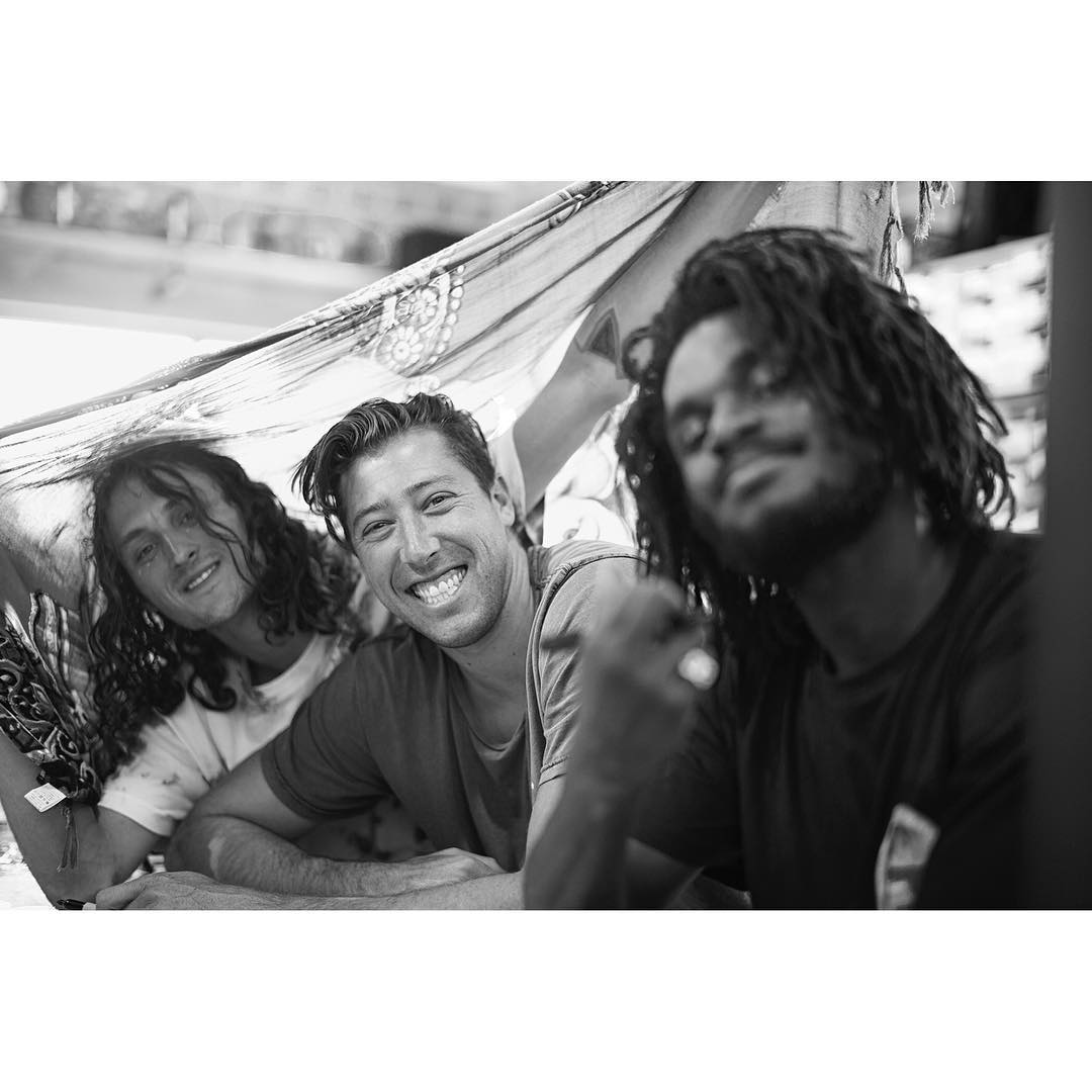 All smiles from @starheadbody, @mikeytaylor and @cyril_killa on tour a few short months ago. Photo: @blabacphoto #DCShoes