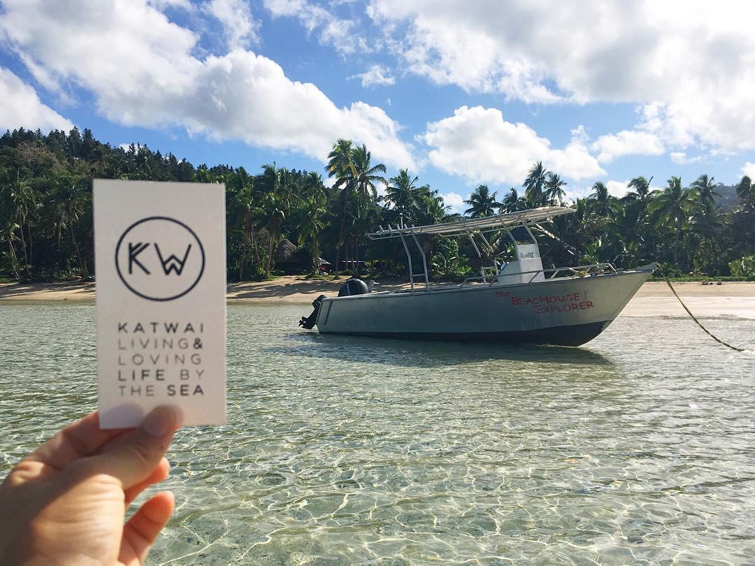 Friday --> EJECT ⚓️ #katwai #active #swimwear #surf #escape #surftrip #BeachHouseExplorer #fiji