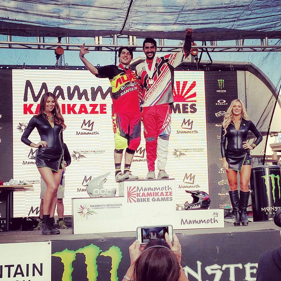 @Ashton_MTB had a boost of confidence in his new #Shiva and it was enough to put him on the #dualslalom #podium !
