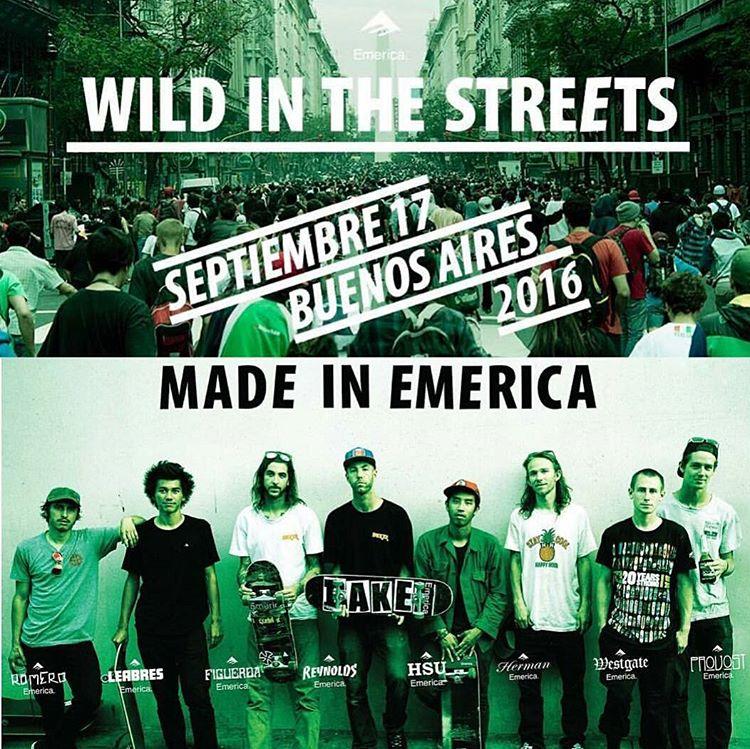 11hs Plaza de Mayo. No se suspende por nada. #wildinthestreets #wildinthestreets2016 #wits2016 #emericaargentina
