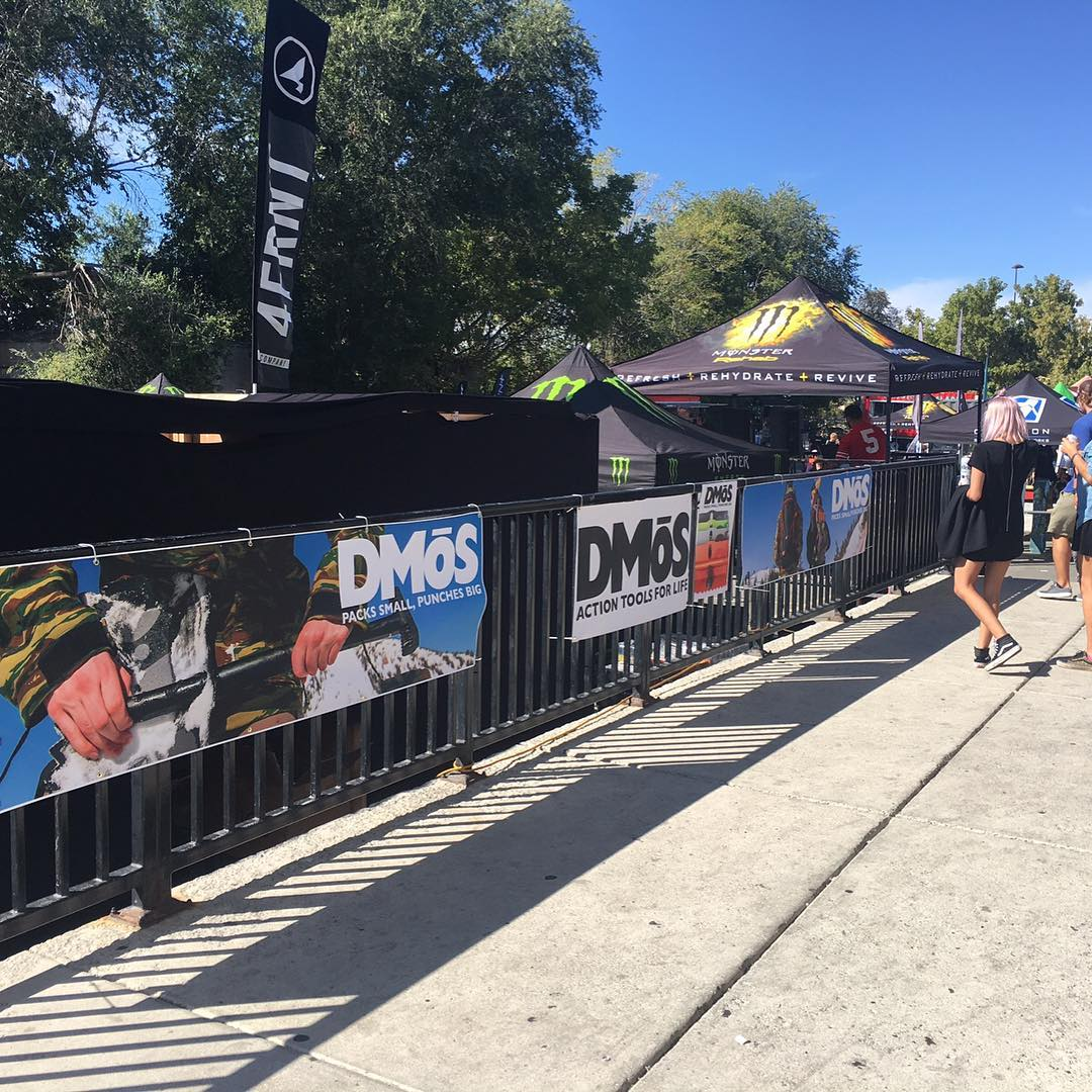 DMOS is stoked to be at the First Chair Festival in SLC today, get down there and see our tools in action on the pre-roll before the feature films! #powder #newschoolers #firstchairfestival #monster #sierranevada#snowiscoming #stealthshovel #dmos...