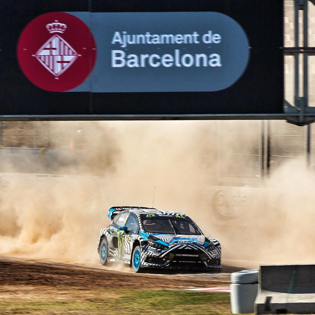 Started off well this morning here at #BarcelonaRX: finishing practice 7th fastest - after having only 8 laps on a track that's totally new to me. Unfortunately after a great launch, I was taken out halfway up the start straight in my Q1 race, and had...