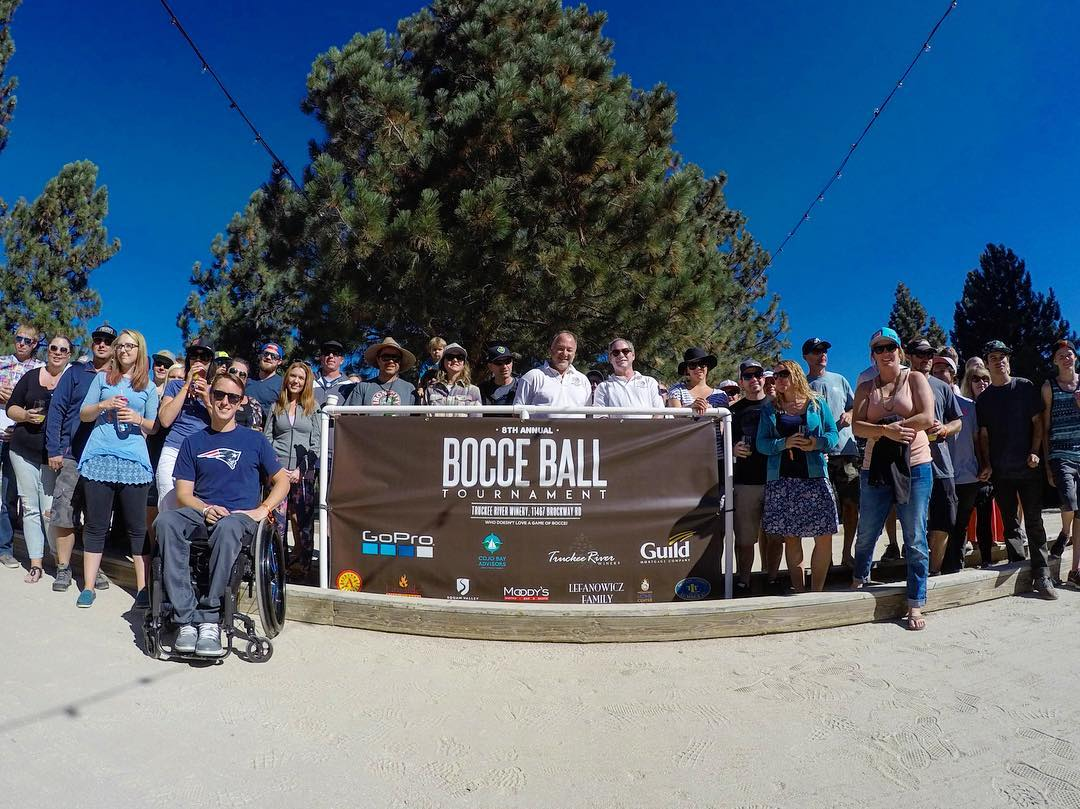 HIGH FIVE from the longest running bocce tournament in the Tahoe area! Stop on by!