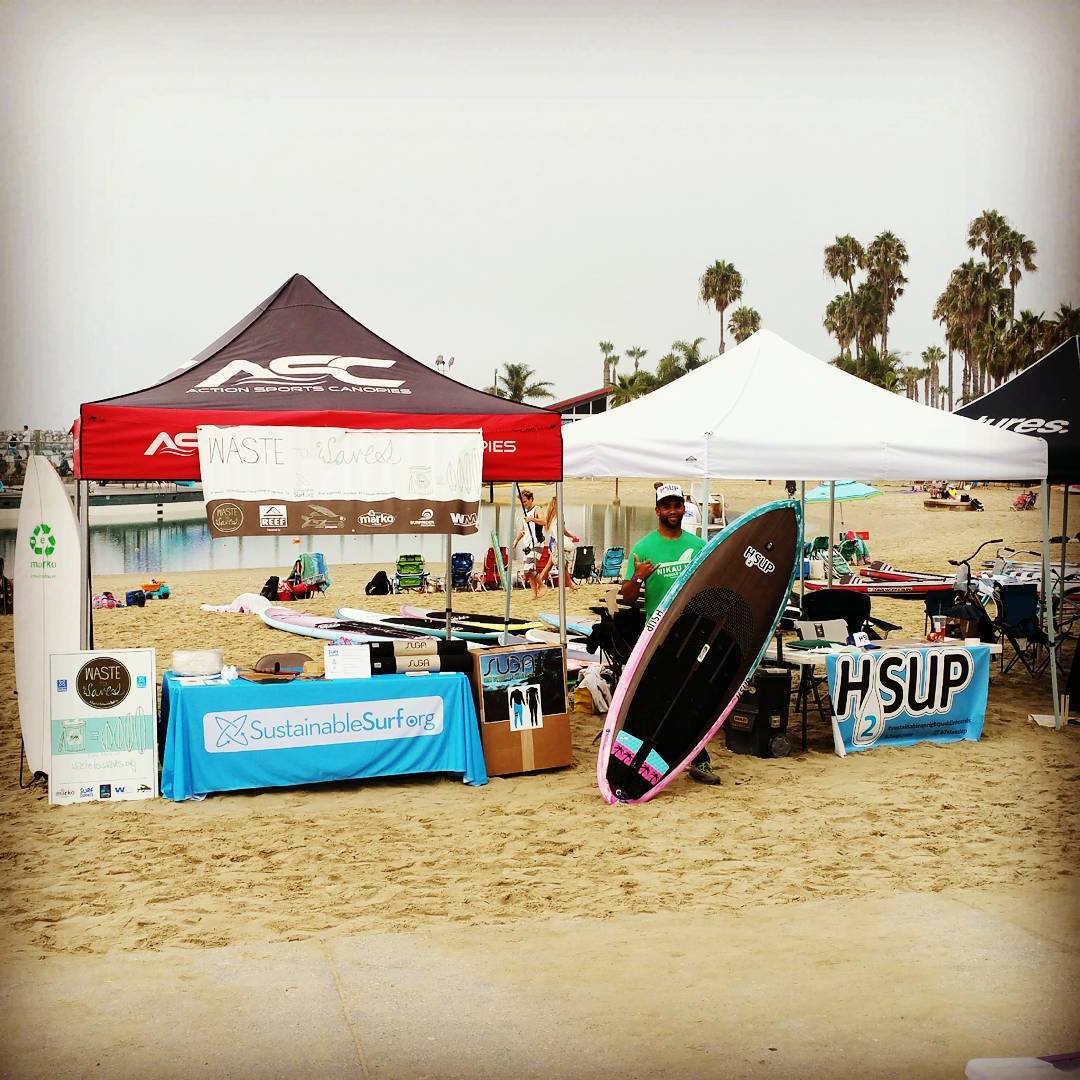 If you live in the Los Angeles area, come out to the Beyond the Shore Paddle Fest in Redondo Beach. We've set up the Waste to Waves recycling center, for styrofoam-into-boards with @markofoamblanks and for wetsuits-into-yoga-mats with @suga.yoga. Bring...